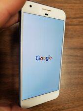 Google Pixel XL - 32GB - white/blue (Unlocked) SCREEN BURN, READ!!