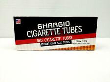 Shargio Full Flavor Red 20mm Filter King Cigarette - 1 Box - 200 Tubes