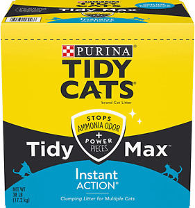 Purina Tidy Cats New Max Instant Action Clumping Cat Litter 38 Pounds