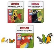 Beaphar Anti Parasite Spot On for Small Medium Large Caged Birds Bird Spot On