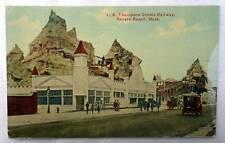 Postcard L A Thompson Scenic Railway Revere Beach Massachusetts #V5