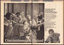 JULIUS CAESAR__Original 1969 Trade AD promo__poster__CHARLTON HESTON__DIANA RIGG