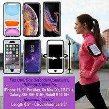 Belt iPhone 11 Pro Max OtterBox Sweat-Resistant Running Gym Arm Case Black