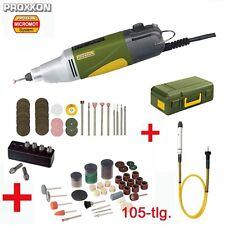 Proxxon micromot multi herramienta industria bohrschleifer ibs/e + biegewelle + accesorios