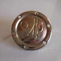 Médaille plaque miniature marine bateau voilier vintage mode collection N5292