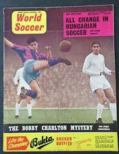 More details for world soccer magazine - nov. 1960 vol 1 no. 2 - burnley, west bromwich albion