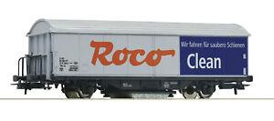 """Roco H0 46400 Schienenreinigungswagen """"ROCO-Clean"""" - NEU + OVP"""