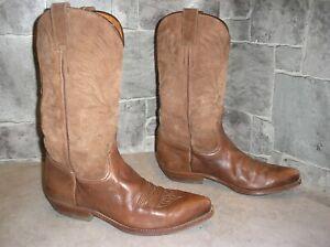 VIDAL Cowboystiefel, Westernstiefel, Cowgirlstiefel, Gr. 38, echtes Leder