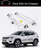 Fits for Jeep Compass 2017-2019 Roof Rail Cross Bars Crossbars Carrier Racks