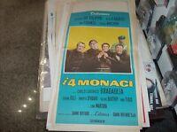 I 4 MONACI locandina originale 1962