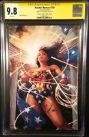 WONDER WOMAN #750 CGC SS 9.8 JAY ANACLETO VIRGIN VARIANT BATMAN SUPERMAN AQUAMAN