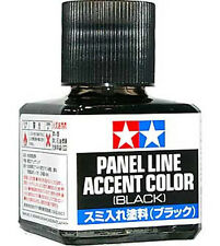 TAMIYA 87131 Panel Line Accent Color Black 40ml for PLASTIC MODEL KIT CRAFT TOOL