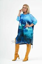 PLUS SIZE Ladies Sweater Dress  Womens Loose Tunic Jumper Dress Pocket