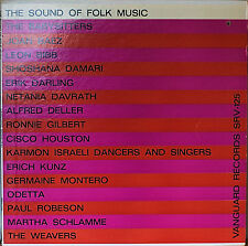 THE SOUND OF FOLK MUSIC-NM1961LP COMPILATION BAEZ/RONNIE GILBERT/CISCO HOUSTON++