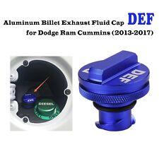 1x Billet Aluminum DEF Cap for 2013-2017 Dodge Ram Cummins and Ecodiesel Truck