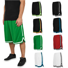 Urban Classics Basketball Stripes Mesh Shorts Football Kit Oldschool NBA Retro