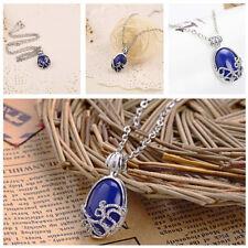 Vampire Diaries Katherine Elena Necklace Pendant Daylight Lapis Jewelry Gift