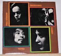 Kossoff / Kirke / Tetsu / Rabbit - 1972 LP Record - Vinyl Excellent