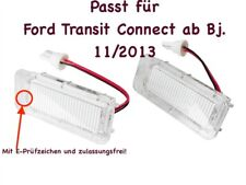 2x TOP LED SMD Kennzeichenbeleuchtung Ford Transit Connect ab Bj. 11/2013 /KS1/