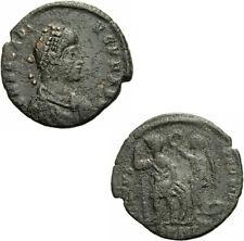 Arcadius aes III Antioquía 395-401 virtvs exerciti victoria emperador Ric 70