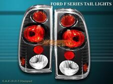 1999-2007 FORD F250 F350 F450 F550 SUPER DUTY CARBON FIBER TAIL LIGHTS