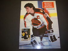 Beckett Hockey Monthly Magazine  February 1991 Lemieux Pittsburgh Penguins M2192