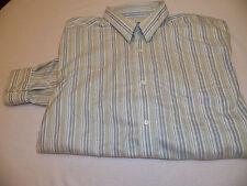 Eddie Bauer Mens Button Up Long Sleeve Shirt Size XL