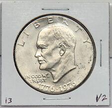1976 D Eisenhower Dollar Coin - Ike - Variety 2 or Type 2 Denver