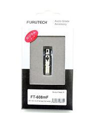 Furutech FT-608mF 4pin Mini XLR Female connector Rhodium plated *1pc /boxed