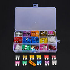 150Pcs Standard Blade Car Auto Fuses 2 3 5 10 15 20 25 30 35 40A Assorted Kit US