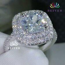 Clear AAA CZ Ring in White Gold Filled - Holidays gift