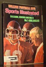 Sports Illustrated Magazine September 11 1978 College Football 1978