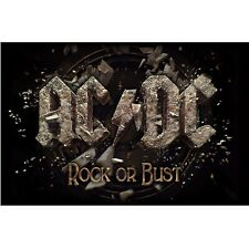 AC/DC premium fabric poster ROCK OR BUST
