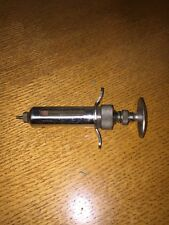 The OM Franklin Animal Syringe No. 10 Blackleg Serum Co., Denver, CO