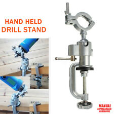 240MM Clamp-on Grinder Holder Bench Table Vise Electric Drill Stand Rotary Tool