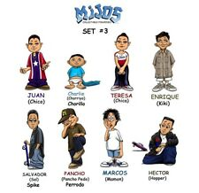Homies **** Mijos Series 3 --- all 8 different figures - loose set