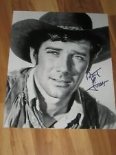 Actor ROBERT FULLER Signed 8x10 LARAMIE Photo AUTOGRAPH 1