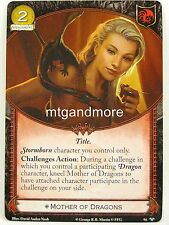 A Game of Thrones 2.0 LCG - 1x #094 Mother of Dragons - Ghosts of Harrenhal