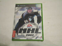 NHL 2002  for Original Xbox Brand New Factory Sealed Free Shipping