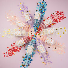 1Pc Party Confetti Poppers for Wedding Happy Birthday Flower Mini Round Confe FT