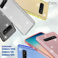 Glitter Shining Bling TPU Jelly Gel Case Cover For Galaxy S10e / S10 / S10 Plus