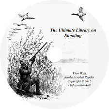 65 Books on DVD, Ultimate Library on Shooting, Guns, How to, Hunt, Shoot, Rifle