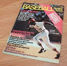 Vintage 1975 Cord Sportfacts Baseball News Collectible Magazine Only **READ**