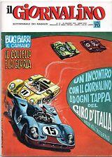 IL GIORNALINO n.21/1970 giusva fioravanti adorni commissario spada samuel colt