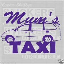 MUMS TAXI DECAL 150x110mm  Captn Skullys Stickers Online MPN 1031 Multipurpose