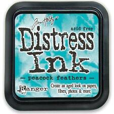 Tim Holtz DISTRESS INK PAD Acid Free Peacock Feathers TIM34933