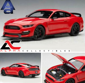 AUTOART 72935 1:18 FORD MUSTANG SHELBY GT-350R RACE RED