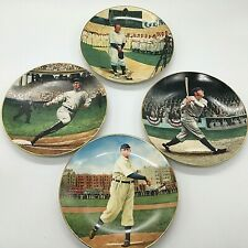 Delphi.The Legends Of Baseball.4 Plates. Lou Gehrig,Babe Ruth,Ty Cobb,Cy Young