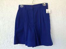 NWT Women's Laura Gayle Cobalt Blue Walking Shorts Size 10