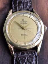 Universal Geneve Polerouter Stainless / Gold Swiss Automatic Watch
